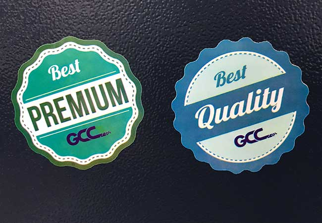 """Roll of 100 Labels Quality Control Approved Stickers 1/"""" Circles"""