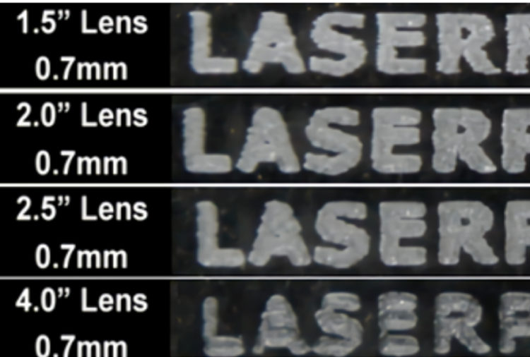 レーザーカッターの厚物カットでお困りの方必見!レンズのインチを変えることでも、切れやすさや断面の垂直性が変わる?!