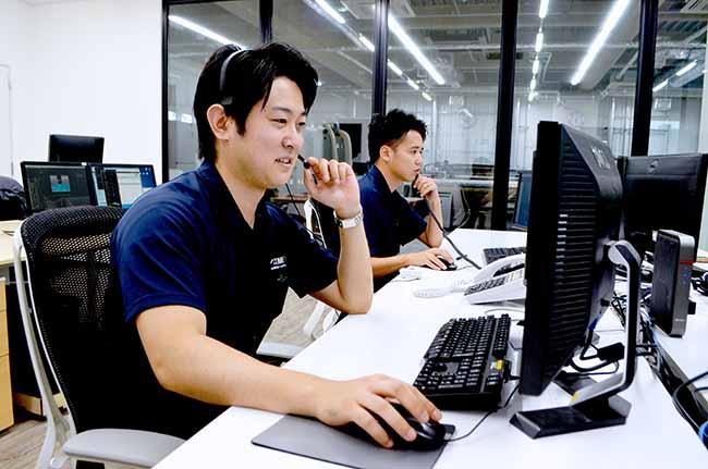 カスタマーサポートグループの業務内容:お問い合わせ対応