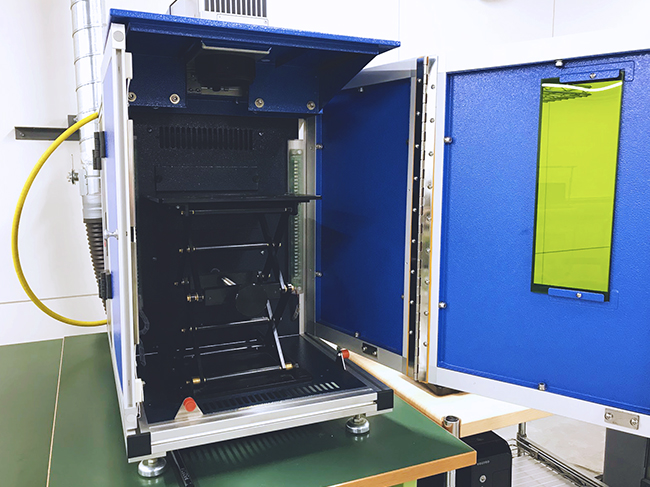 人気のレーザー加工機「GCC社製 StellarMark iseries」は金属へのマーキングを可能にします。