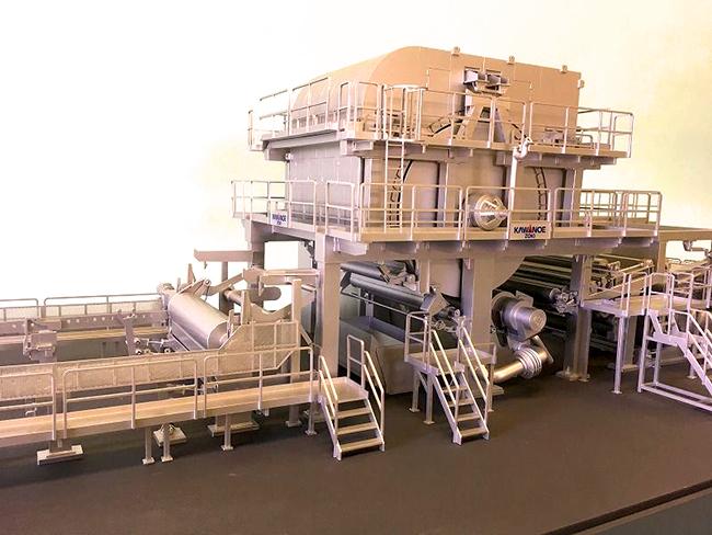 レーザー加工機・レーザーカッターを使用した建築模型に限らず、工場の生産ラインの機械設備一式や、機械そのものの模型製作の依頼もあるようで、中には実際に稼働する模型も製作されています