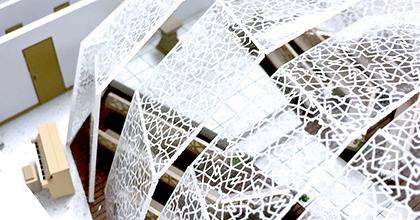 ペーパークラフト、建築模型