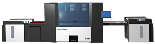 紙器パッケージ向けレーザー加工機 SEI PaperOne(ペーパーワン)
