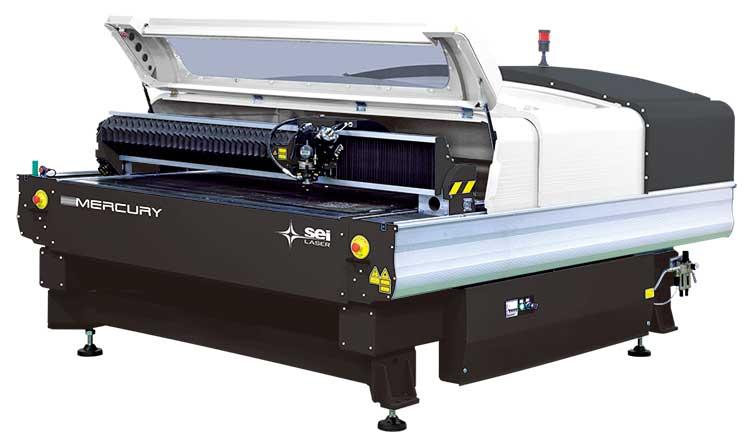 大型レーザー加工機SEIシリーズMercury609
