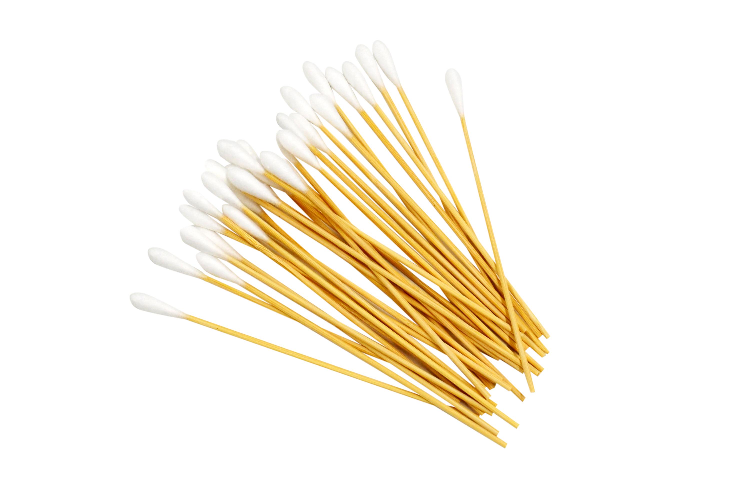 清掃用綿棒は細かい部分の掃除ができます。