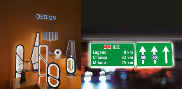 レーザー加工機による導光板加工例:照明・看板・標識