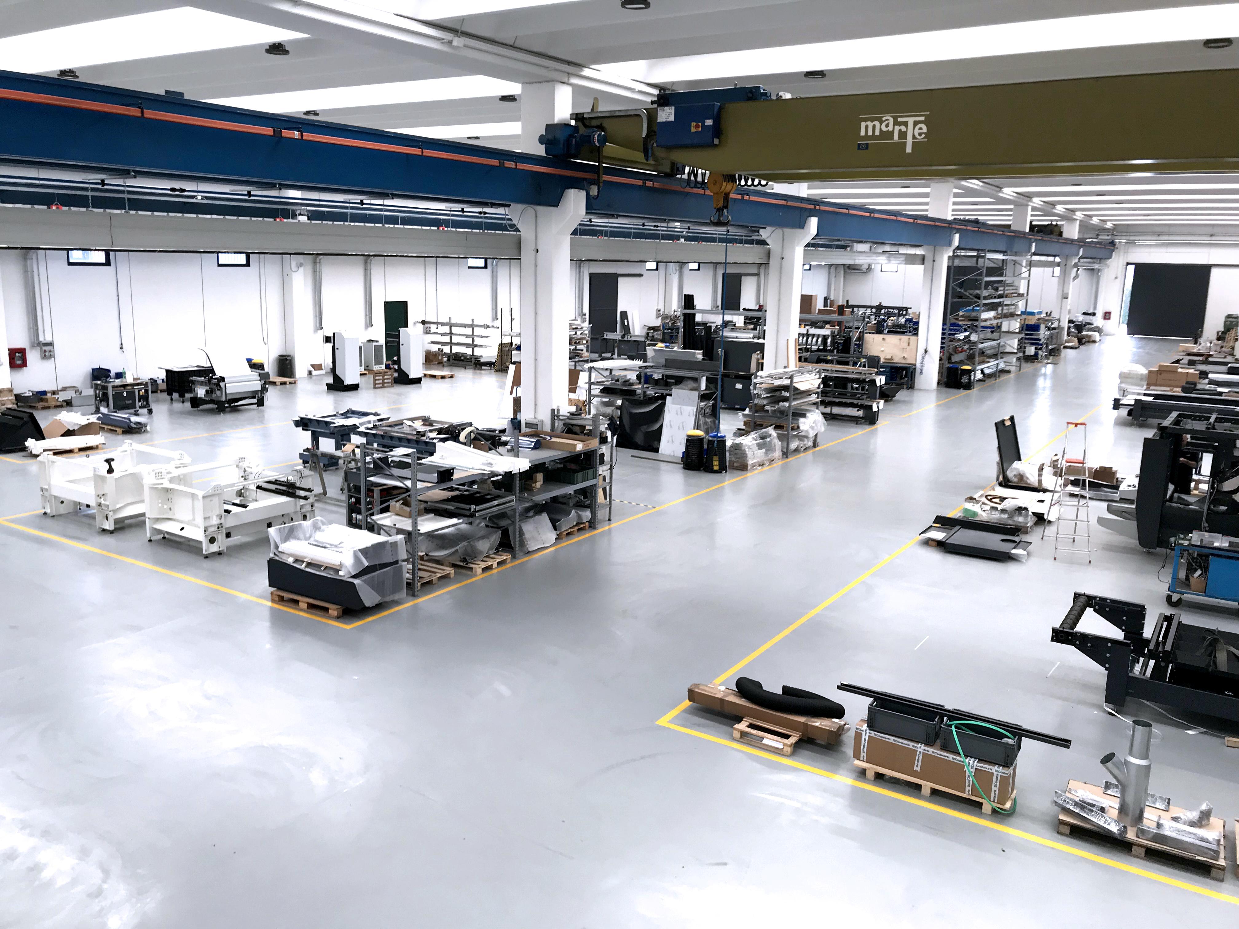 レーザー加工機メーカーSEI社の新工場
