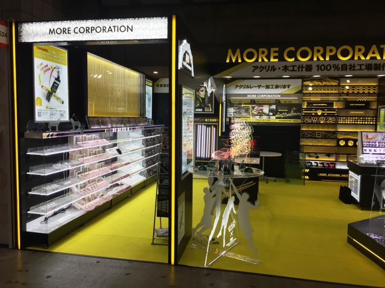モアコーポレーション様は、「結果の出る売り場作り」の専門家として、什器製作、店舗設計・施工、LED 開発・販売を中心に事業展開されています。