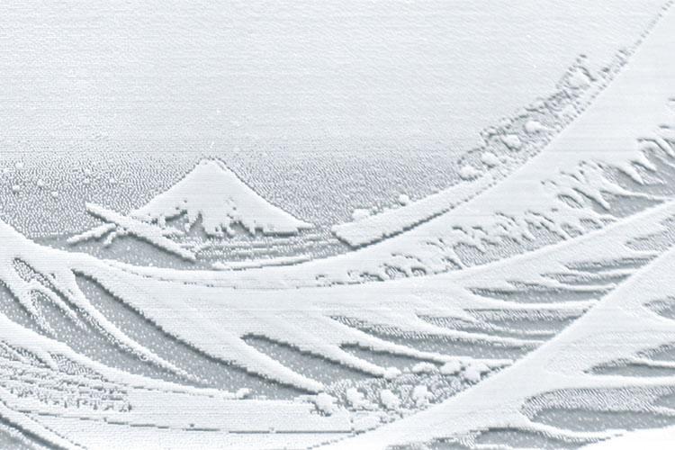 レーザーカッター・レーザー加工機のレーザー彫刻は、出力設定に3Dモード彫刻を選択すると、レーザーの強弱で濃淡の表現をし、透明感がある奥行きがある表現をします。