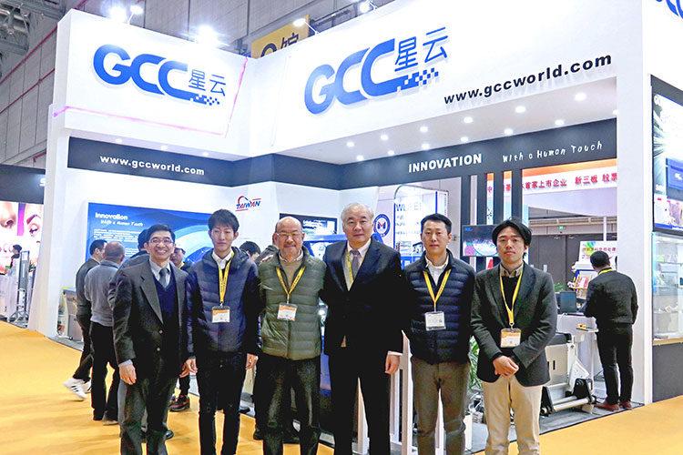 海外出張レポート:GCC社 上海工場、中国最大のサイン展示会APPP EXPOを視察