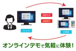 業務管理システム「サインジョブズ」を無料で体験!オンラインデモスタート!