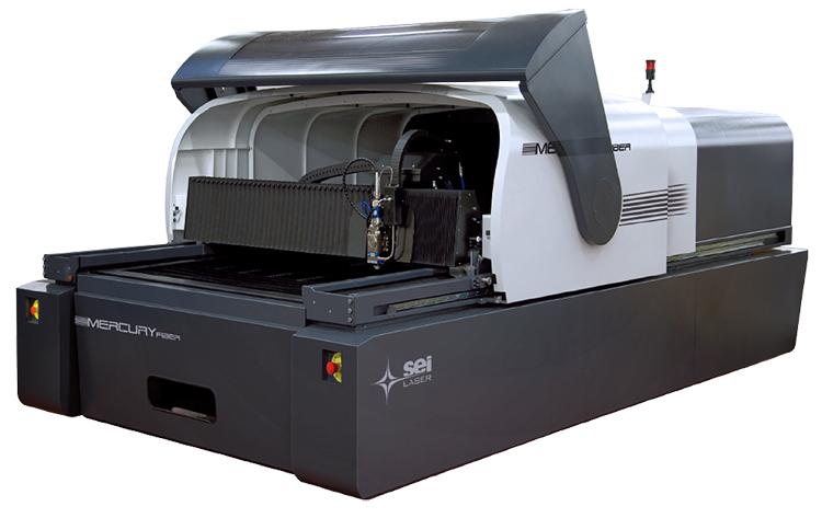金属素材のカット加工が得意なレーザー加工機 SEIシリーズ MercuryFiber