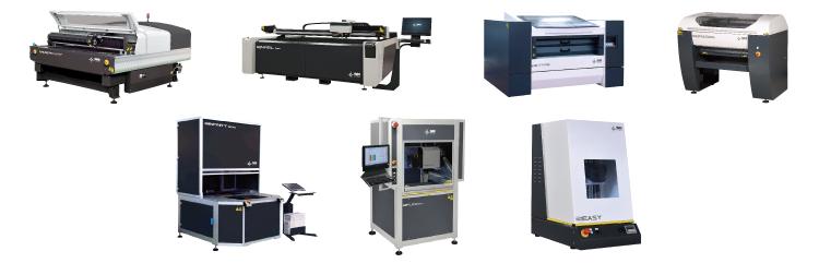 養生テープで、集塵機の効率を上げる方法が効くSEI社製レーザー加工機(レーザーカッター)は全種類です。