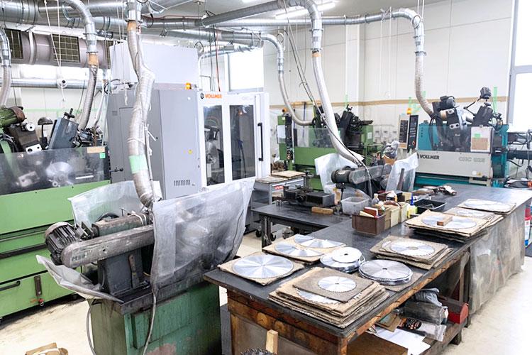 北海道エリア(札幌)ショールーム:株式会社アサヒ様の木工加工機エリア
