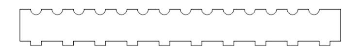 ペン先部分の固定用パーツの加工データ|コムネット特製「フジタ式治具」|レーザー加工道場|コムネット