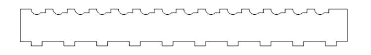 グリップ部分の固定用パーツの加工データ|コムネット特製「フジタ式治具」|レーザー加工道場|コムネット