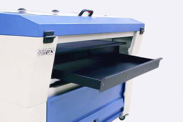 レーザーカッターGCC LaserProシリーズのカッティングボックス|レーザーメンテナンス講座