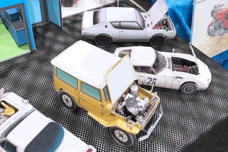 お客様プロフィール|ペーパークラフト・ペーパーモデル製作 W2 studio様|レーザー加工機の導入事例