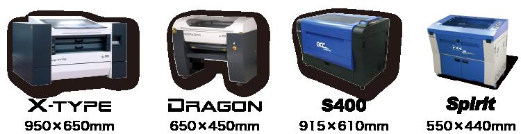アクキー製作と相性が良い、CCDカメラ機能を搭載しているレーザー加工機のラインナップ