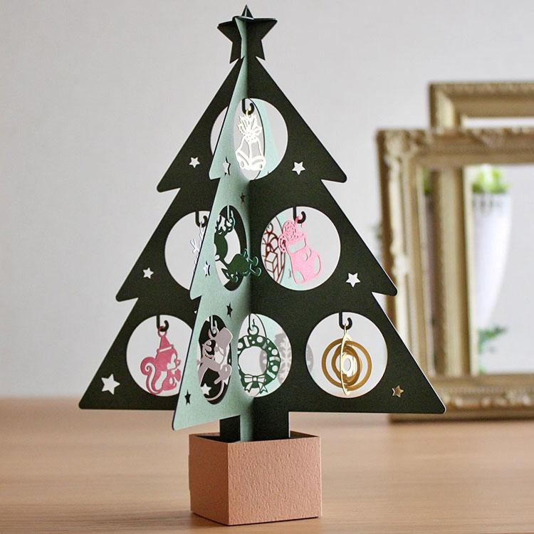 クリスマスオーナメント|レーザー加工で製作した商品|株式会社鈴木紙工所様|レーザー加工機の導入事例