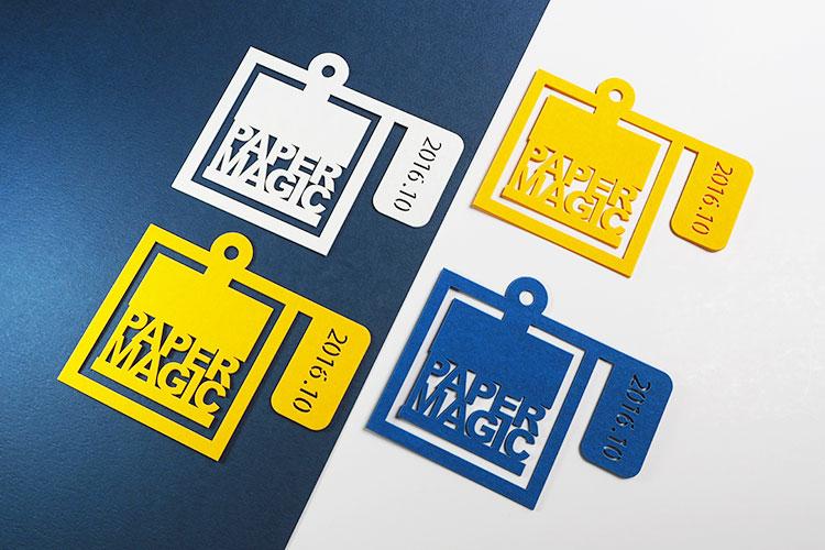 レーザー加工商品:クリップdeしおり|大日印刷株式会社様(PAPER MAGIC)|レーザー加工機の導入事例