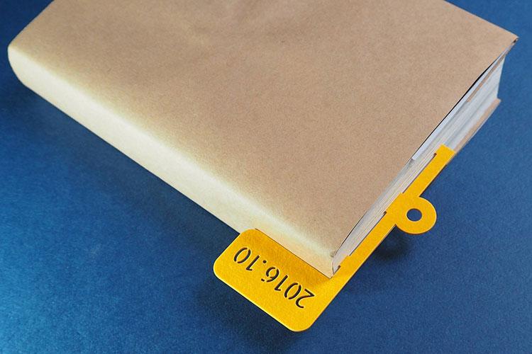 レーザー加工商品:本のしおりとして(クリップdeしおり)|大日印刷株式会社様(PAPER MAGIC)|レーザー加工機の導入事例