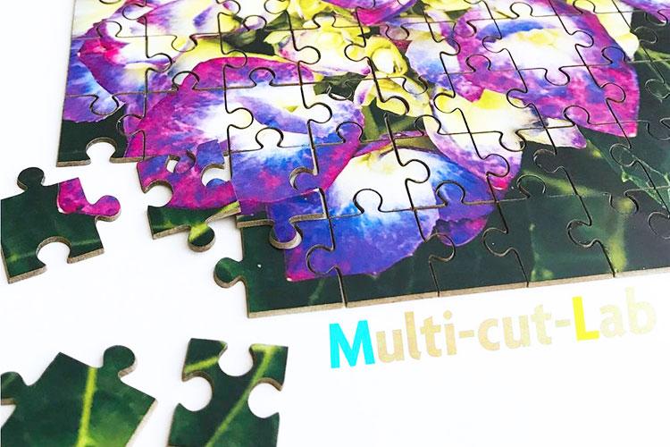 ジグソーパズル|レーザー加工商品|三条印刷株式会社様|レーザー加工機の導入事例