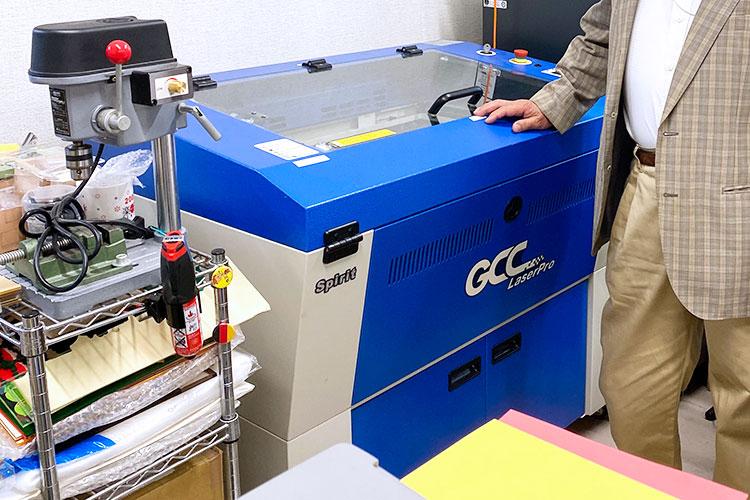 導入機種:レーザーカッター GCCシリーズ SPIRIT|ダーツ様|レーザー加工機の導入事例