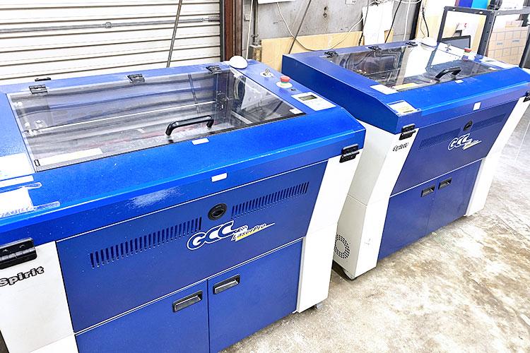 導入機種:レーザー加工機 GCCシリーズ SPIRIT|オオフチ工芸様|レーザー加工機の導入事例