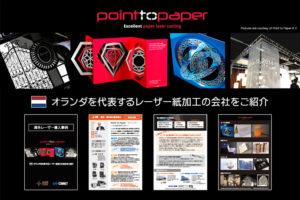 海外から学ぶレーザー導入事例|付加価値を高めて価格競争から脱却したレーザー紙加工の会社|Point to Paper