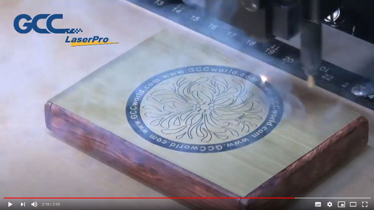 2層ステッカーとレーザー加工のコラボ レーザー加工動画