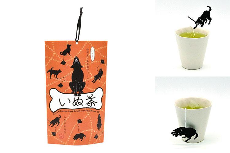 「ねこ茶」と並ぶヒット商品の「いぬ茶」 株式会社山壽杉本商店様 レーザー加工機の導入事例